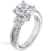 scott kay vintage collection flame engraved diamond engagement ring m1087rd 1000 gift card - Scott Kay Wedding Rings