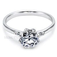 Tacori Diamond Engagement Ring Setting T2535-RD