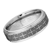 Scott Kay Cobalt 7mm Engraved Dome Band SK-C3111BC7