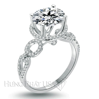 Diamond Engagement Ring Setting Style B2476