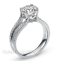 Diamond Engagement Ring Setting Style B2477