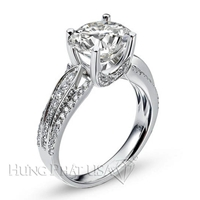 Diamond Engagement Ring Setting Style B2485