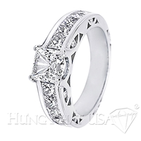 Diamond Engagement Ring Setting Style B2525