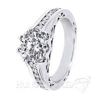 Diamond Engagement Ring Setting Style B2526