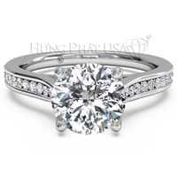 Ritani Engagement Ring Setting 1R2487CR-$100 GIFT CARD INCLUDED WITH PURCHASE