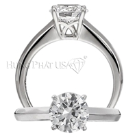 Ritani Engagement Ring Setting 1R1202CCR-$100 GIFT CARD INCLUDED WITH PURCHASE