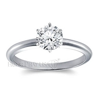 Classic Six Prong Engagement Ring Setting BN00002