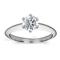 Nouveau Solitaire Engagement Ring Setting BN17876