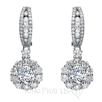 Diamond Dangling Earrings Setting E2256A