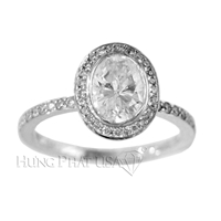 Cubic Zirconia Diamond Ring R30513