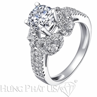 Diamond Engagement Ring Setting Style B2918