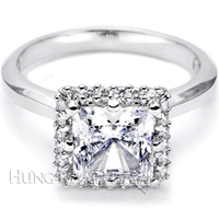 Tacori Diamond Engagement Ring Setting T2502PR 7