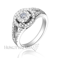 B1681 - Carater Diamond Ring 6.0mm