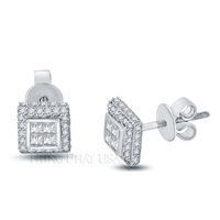 Diamond Stud Earrings Style E58805