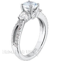 Scott Kay Split Shank Engagement Ring Setting SK M1106RD-$1000 GIFT CARD INCLUDED WITH PURCHASE