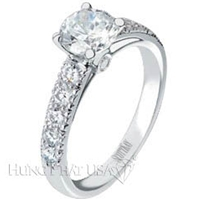 Scott Kay Round Cathedral Engagement Ring Setting SK M1062RD-$1000 GIFT CARD INCLUDED WITH PURCHASE