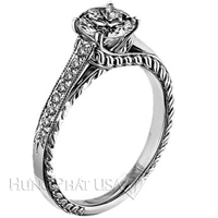 Scott Kay Flame Engagement Ring Setting SK M1216RD10-$300 GIFT CARD INCLUDED WITH PURCHASE