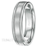 Scott Kay Flat Milgrain Wedding Band C0368*8-$500 GIFT CARD INCLUDED WITH PURCHASE