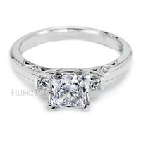 Diamond Engagement Ring Setting Style HP_T2605 PR