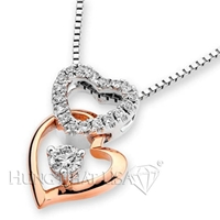 18K White Gold Fashion Pendant P2226