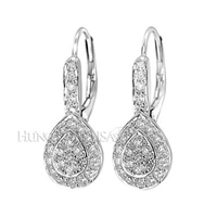 Diamond Dangle Earrings E1983