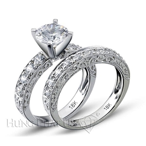 Diamond Engagement Set Mounting Style BD5098