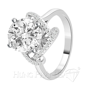 Diamond Engagement Ring Setting Style R90497