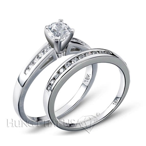 Diamond Engagement Set Mounting Style BD5097