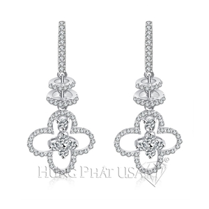 Diamond Dangling Earrings Style E7469