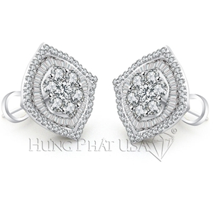 Diamond Dangling Earrings Style E50515